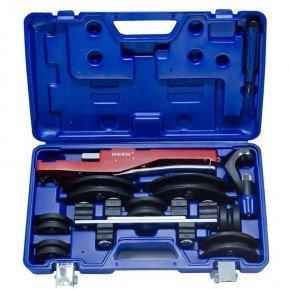 kit curvador de canos de cobre e aluminio com cortador e escariador