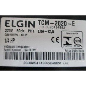 2273 compressor 1 4hp tcm2020e 220v 60hz elgin