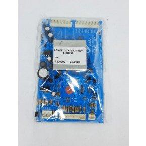 placa eletronica compativel ltr100 127220v 64800246 alado kg100g c15 l10cm p4cm 2peca 2006