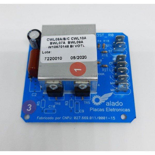 placa eletronica reversao compativel cwl10k 32602892 alado kg0 60g c10cm l10cm p4cm2pecas 2012