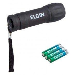 2231 lanterna de bolso 9 leds 3 pilhas aaa elgin