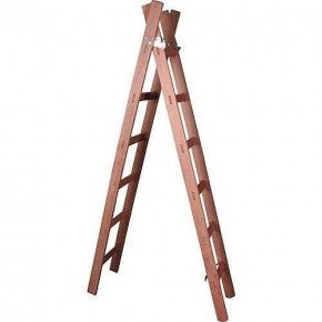 escada de madeira